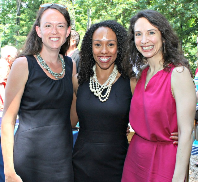 Jillian Gilchrest (CAHS), Myra Jones-Taylor (CT Early Childhood Planning Director and new executive director of the OEC), and Jessica Sager (All Our Kin)