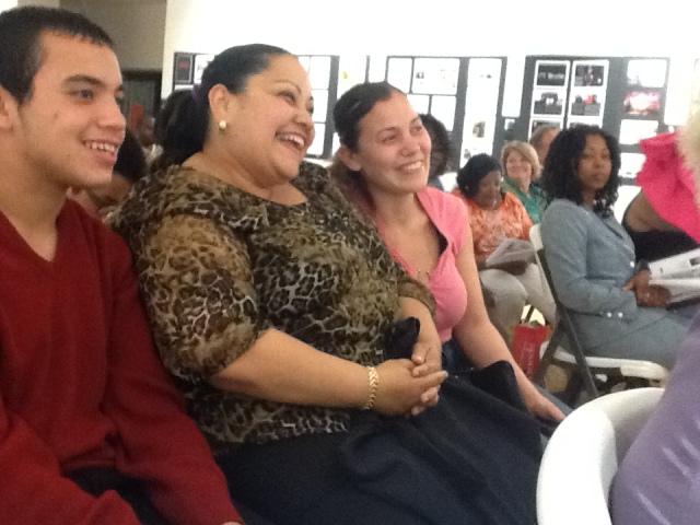 Nilda and family at RYASAP