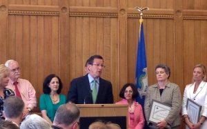 Governor Dan Malloy at the Children's Champions Event