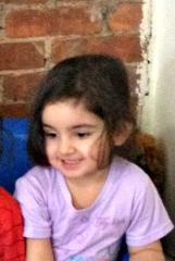 Weam's daughter Marwa at Nicole's program in 2012