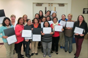 Graduates of All Our Kin's Business Series in Bridgeport