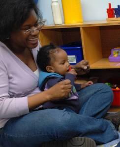A New Haven family child care provider
