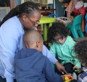 Learning in a family child care program