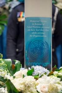 Memorial Service in honour of the United Nations Personnel who have lost their lives while serving the Organization.