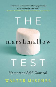Professor Mischel's new book, The Marshmallow Test