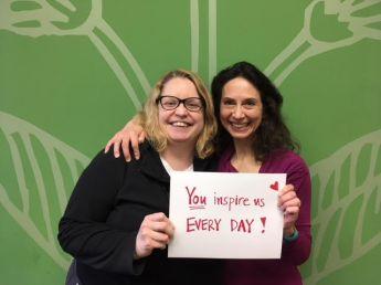 Jessica and Janna Provider Appreciation message